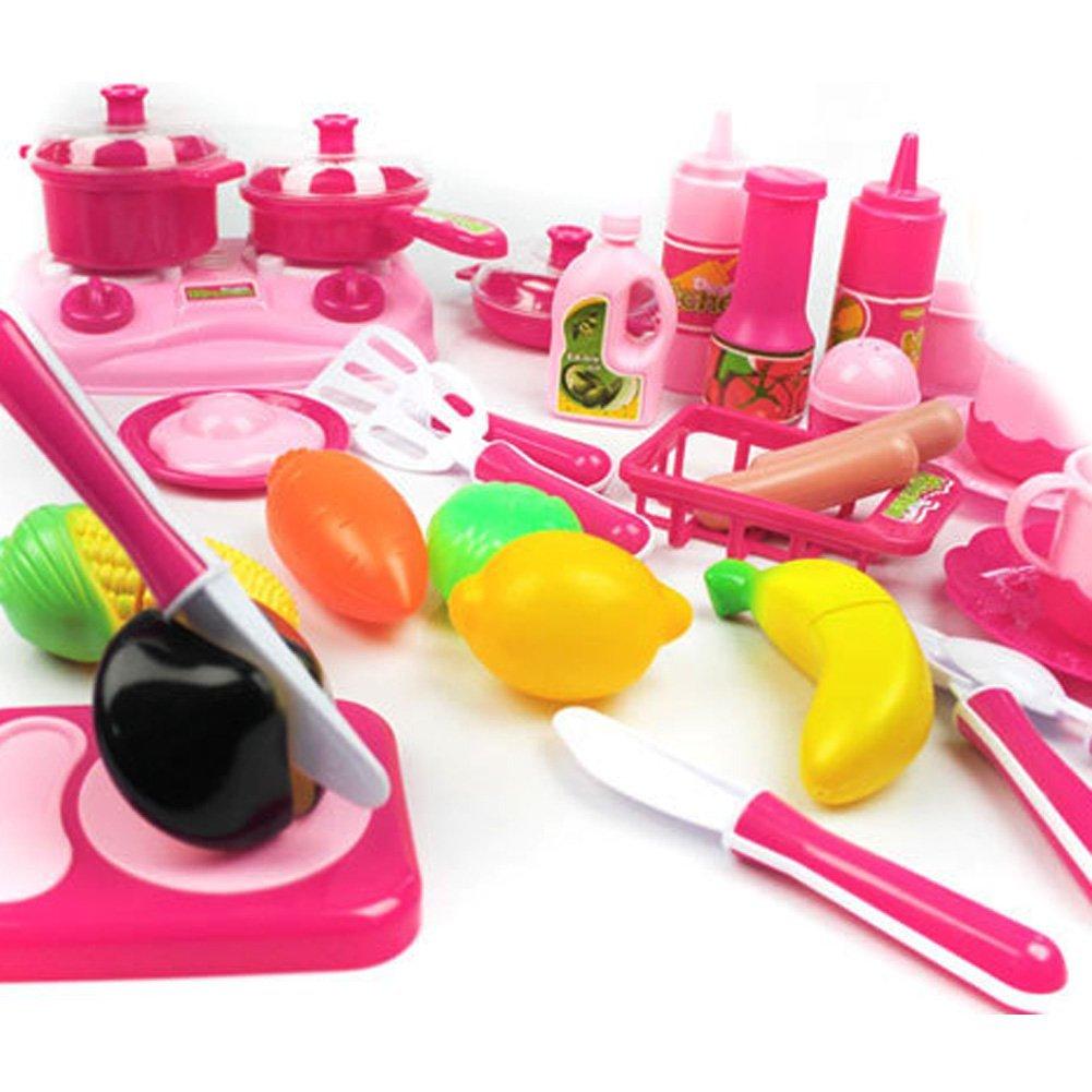 Pcs set kueche essen kochen rollenspiele spielzeug