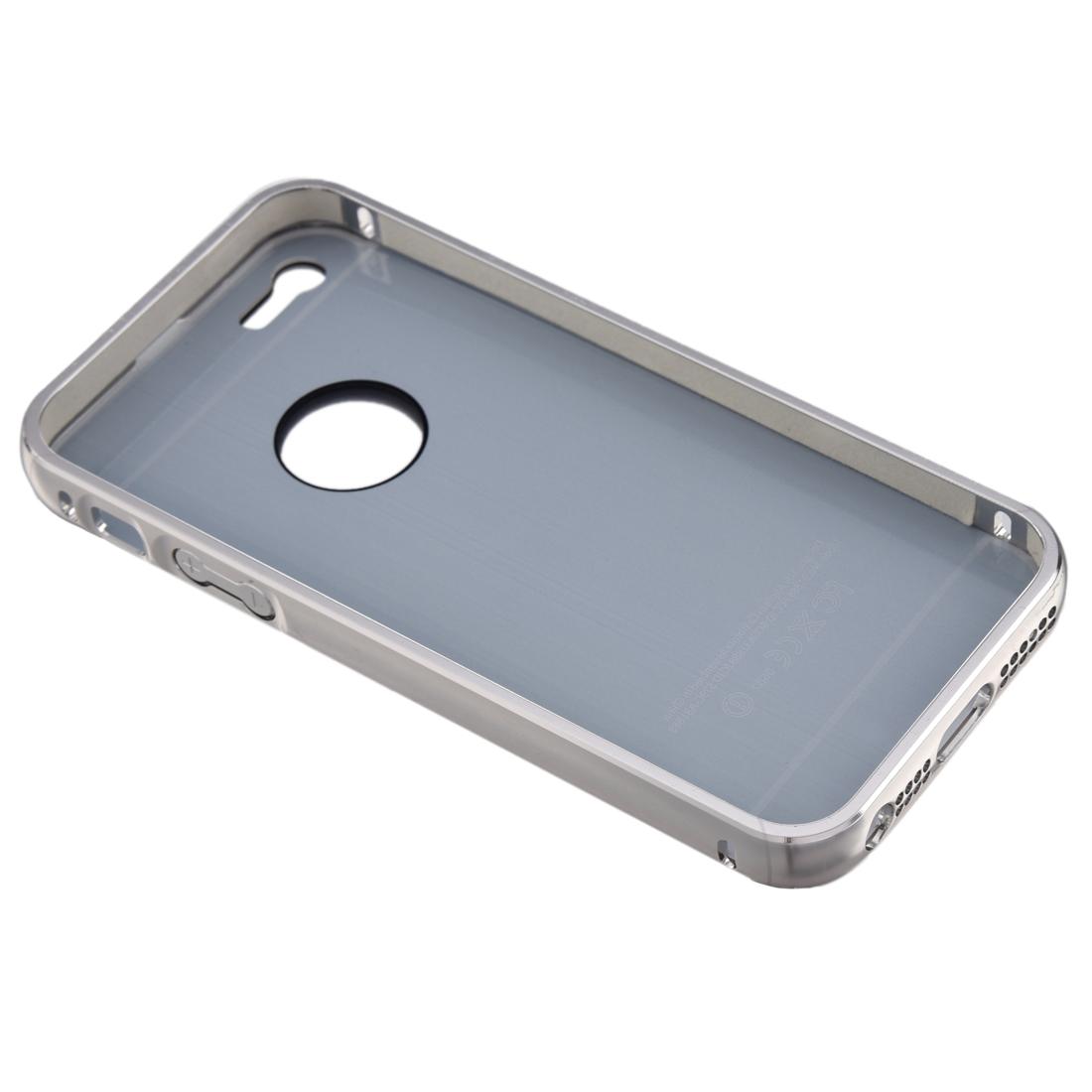 iphone 5s aluminum case w6 luxury aluminum ultra thin mirror metal cover for 14735