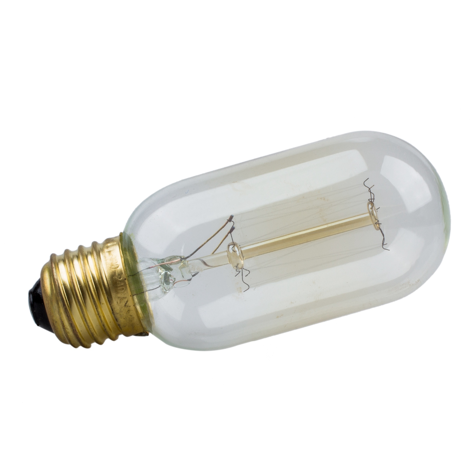 E27 40W Vintage Retro Filament Tungsten Light Bulb T45 J5D5 W3W3; Picture 2  Of 5 ...