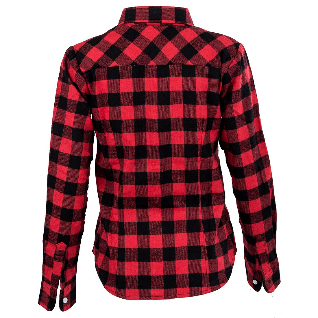 Womens shirt flannel shirts tops blouse red black m w1u1 Womens red plaid shirts blouses