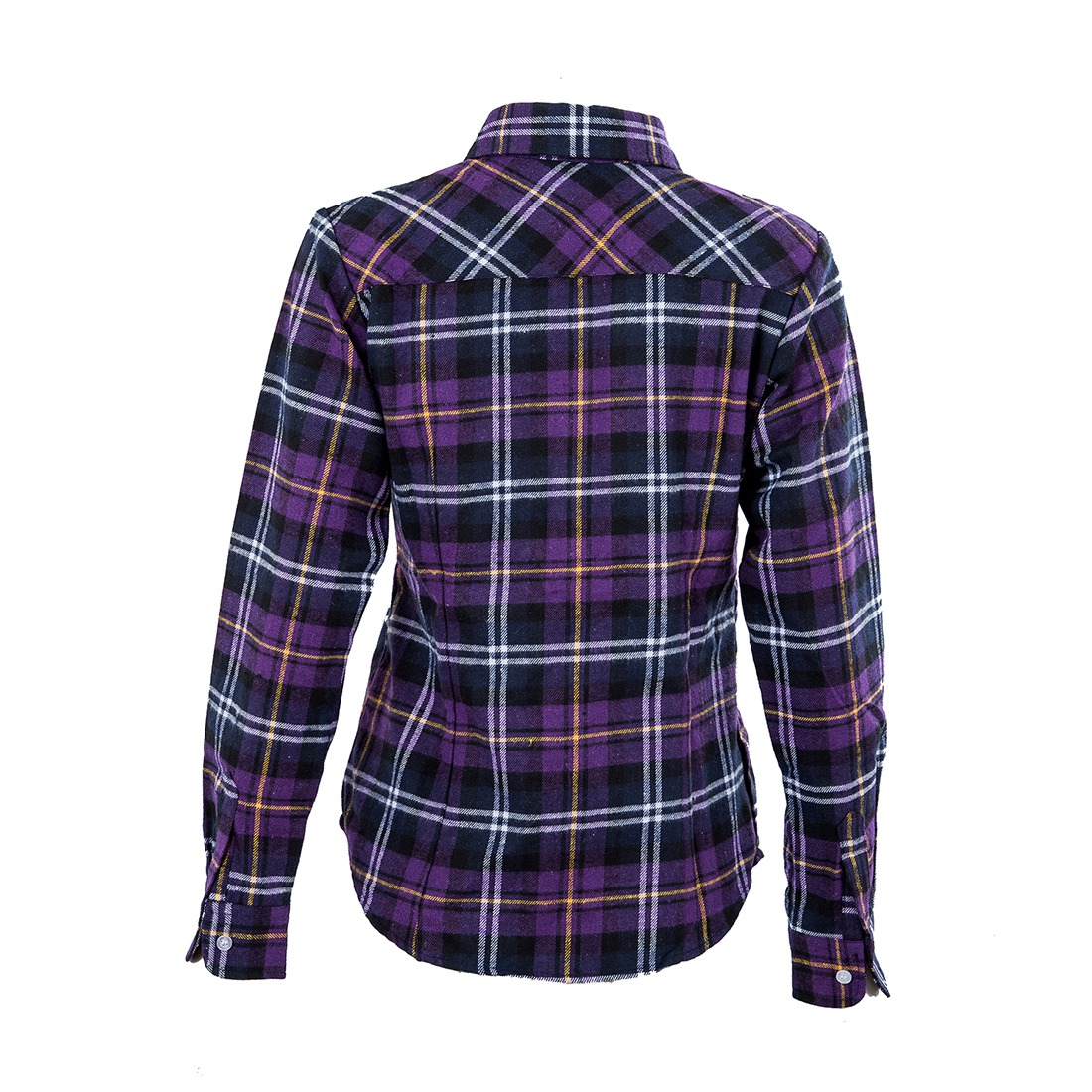 Womens shirt flannel shirts tops blouse purple white xl for White and black flannel shirt womens