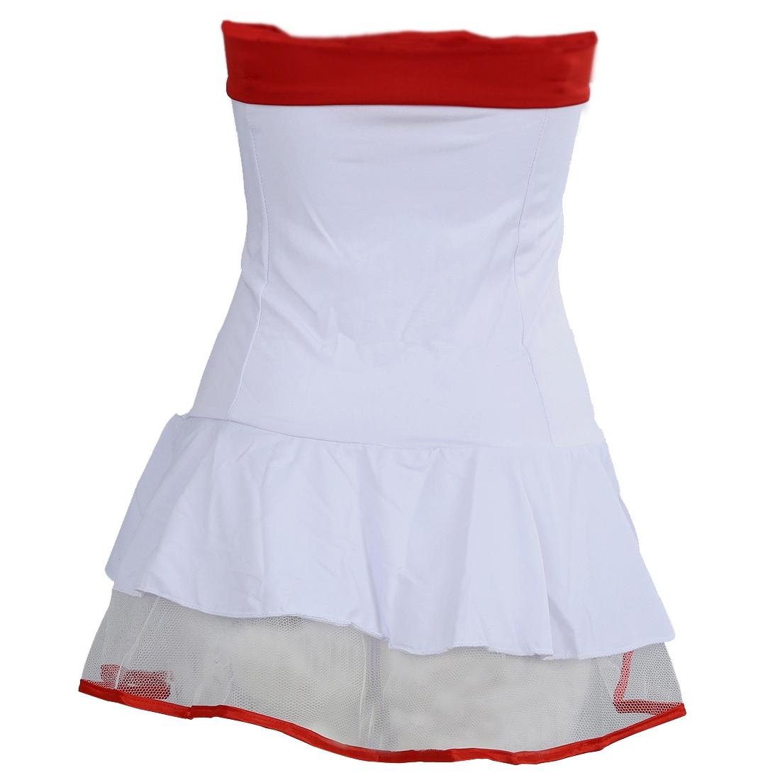 Disfraces-de-traje-enfermera-blanco-con-rojo-Ropa-rendimiento-escenario-Lenceria