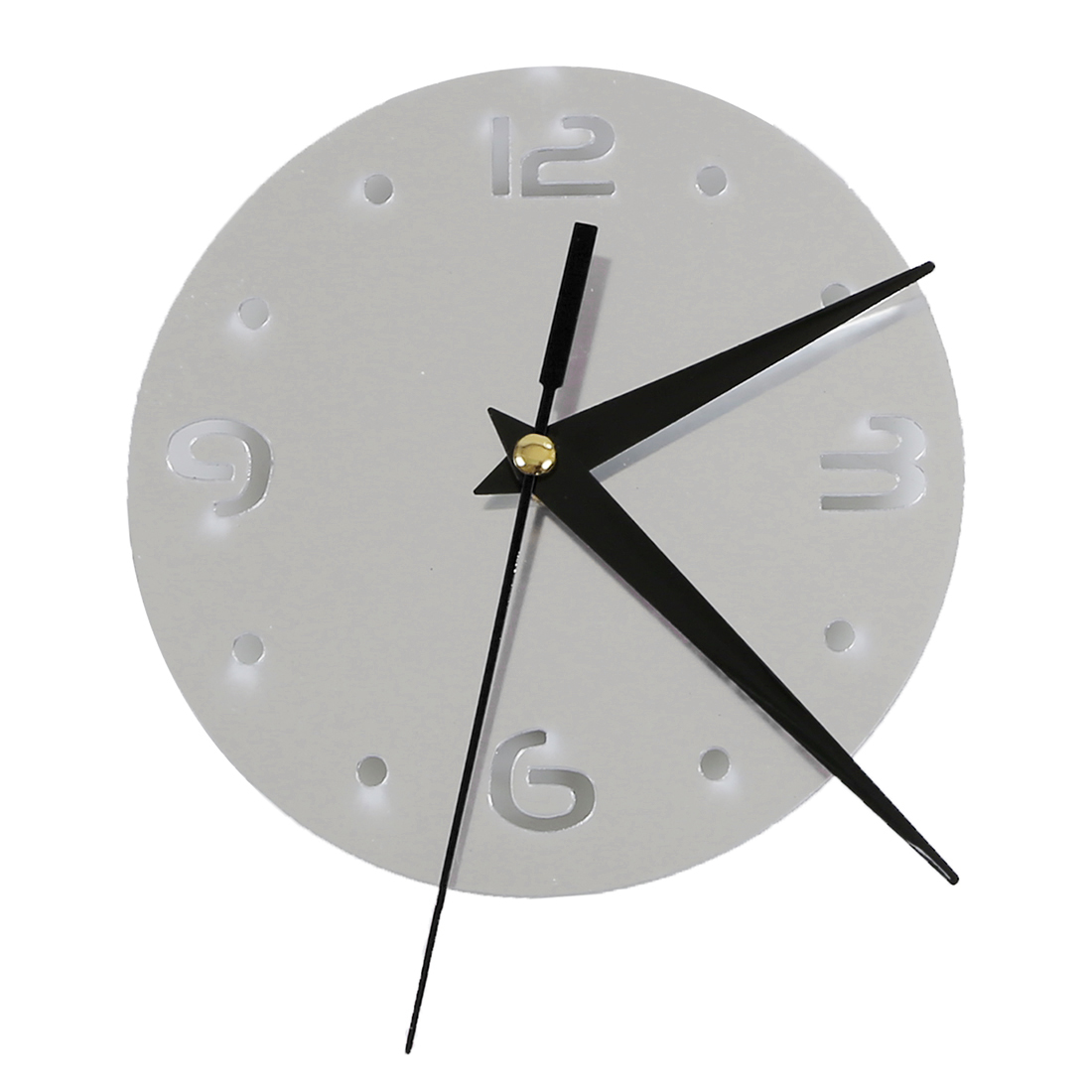 Package Include 1pc Petals Pattern Sticker Diy Mirror Wall Clock Home Decoration Without Retailing Ng