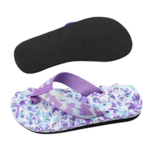 2X-Zapatillas-De-Espiga-De-Camuflaje-De-Mujer-Sandalias-De-Fondo-De-Masaje-S8G7 miniatura 20