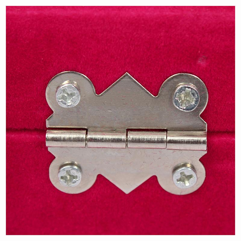 24-grille-Presentoir-Boite-a-Bijoux-Rangement-Verre-pour-Montre-Bracelet-Bouc-93 miniature 7