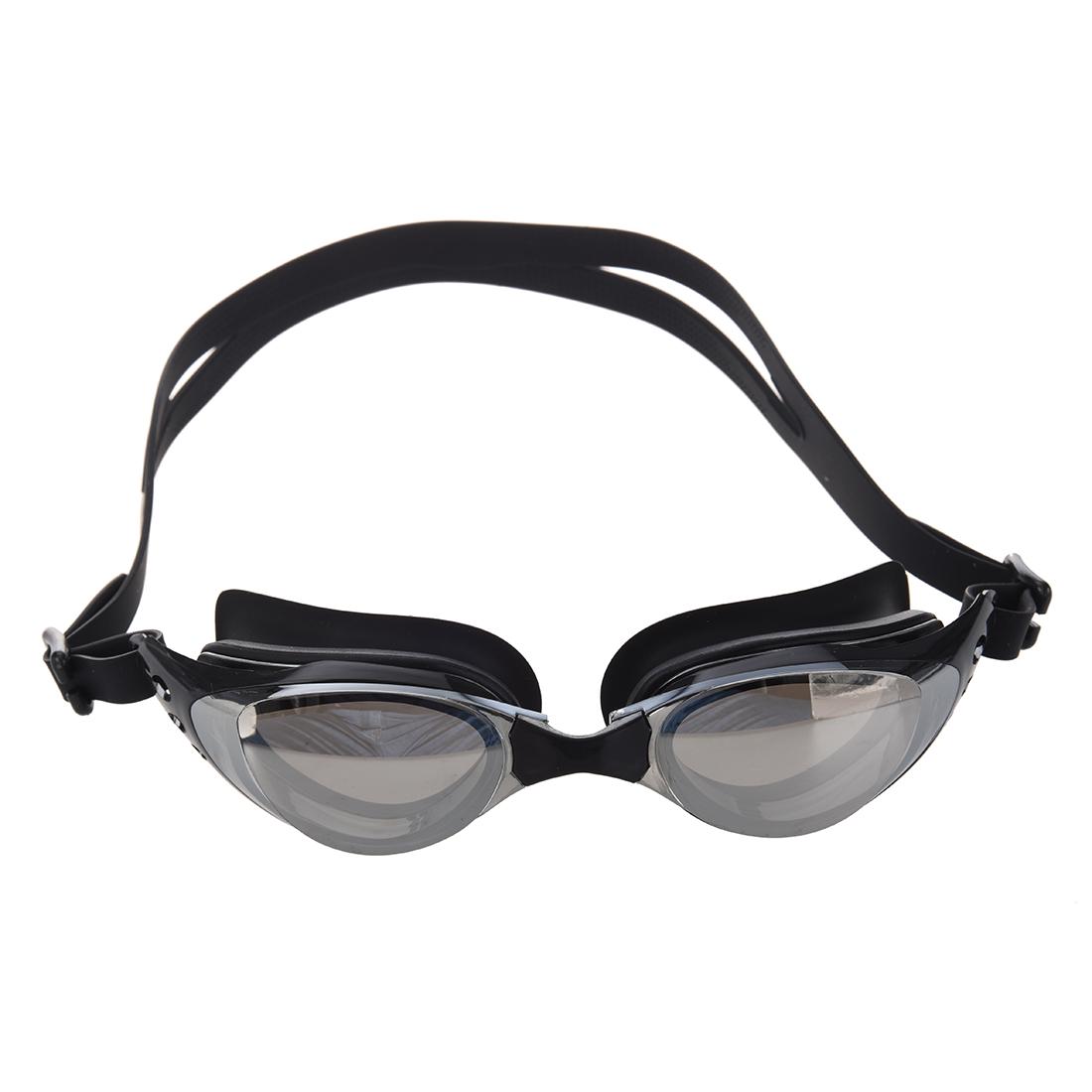 Black Swim Swimming Water Silicone Pool Adult Goggles Eye