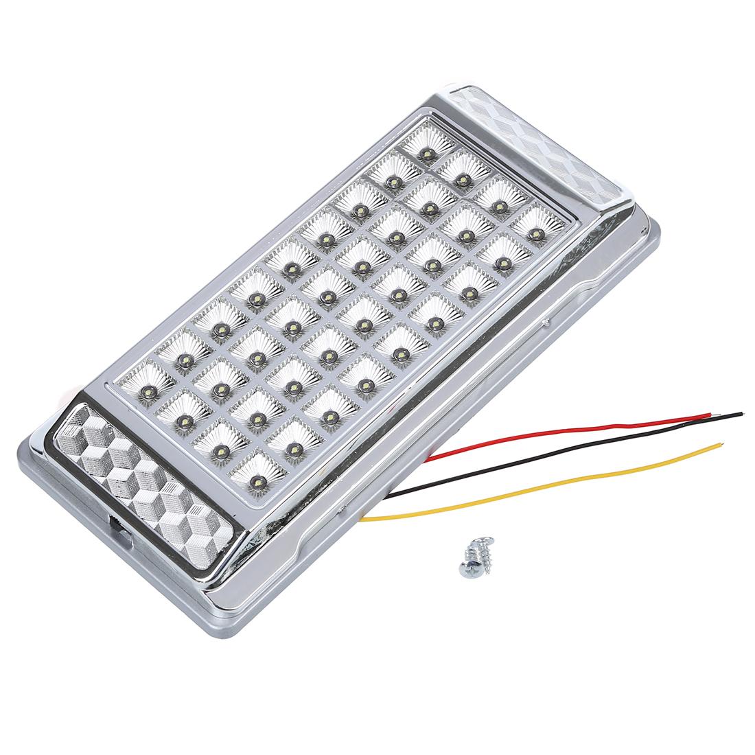 36 LEDs Auto-Dach-Decken-Innen Draht-Lampen-Weiss 12V DC R8F8 | eBay