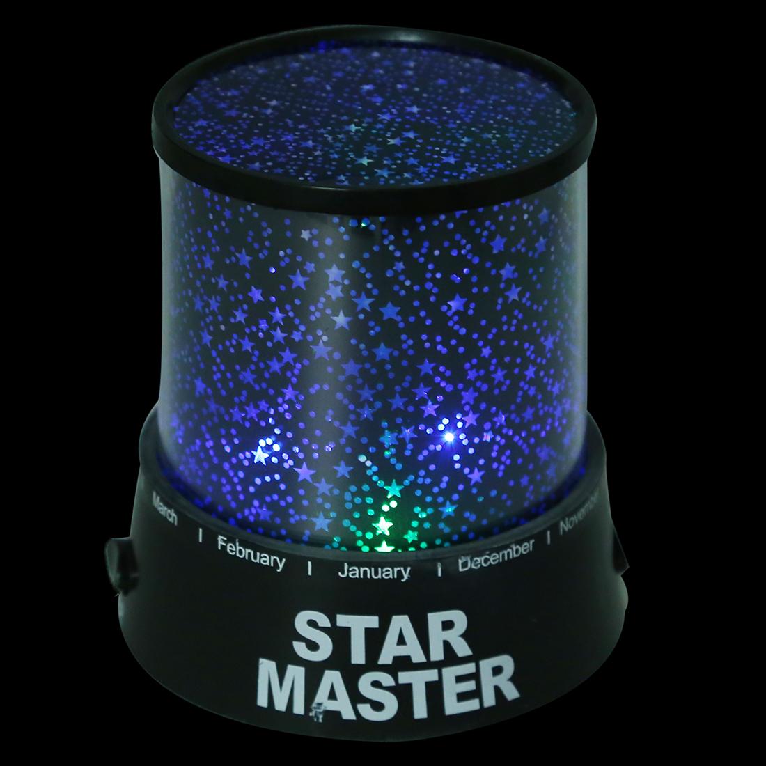lichteffekte 4 led projektor nachtlicht sternenhimmel romantisch y1s2 ebay. Black Bedroom Furniture Sets. Home Design Ideas