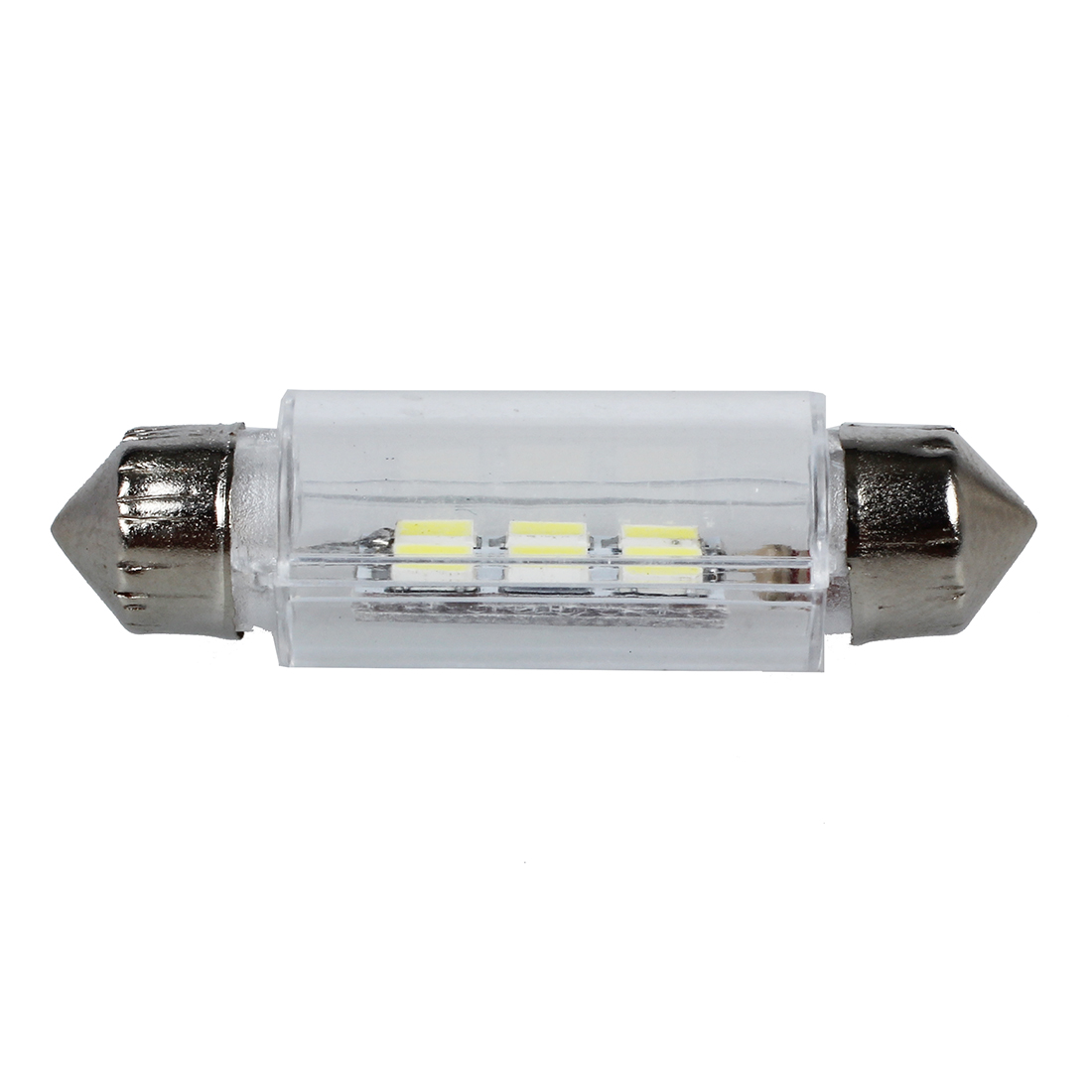 New Practical 38mm White 6 Smd Led Car Interior Dome Light Lamp Bulb Power To The And Comes On Dc 12v Low Consumption High Brightness Easy Install Compatible With 40mm 44mm 211 2