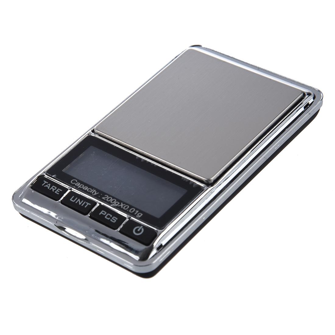 200g mini digital pocket scale for jewelry kitchen for Mini digital jewelry pocket gram scale