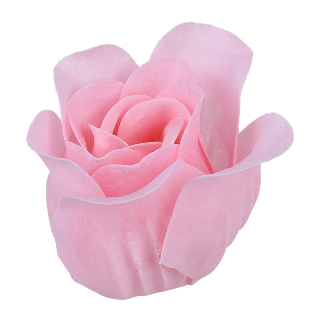 6pzs Rosado claro Jabon de petalos de brote de rosa Favor de boda ...
