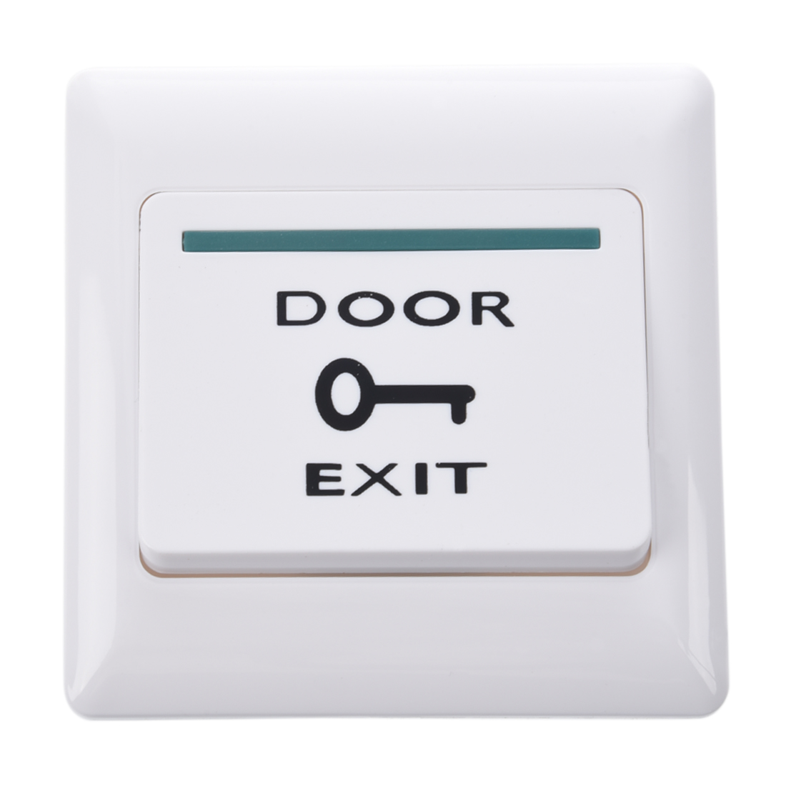Electronic Door Exit Push Strike Button Panel It is widely used in doors exitsgates and automatic control; Easy to install and use; Net Weight 60g  sc 1 st  eBay & New White Electronic Door Exit Push Strike Button Panel+2 Mounting ...