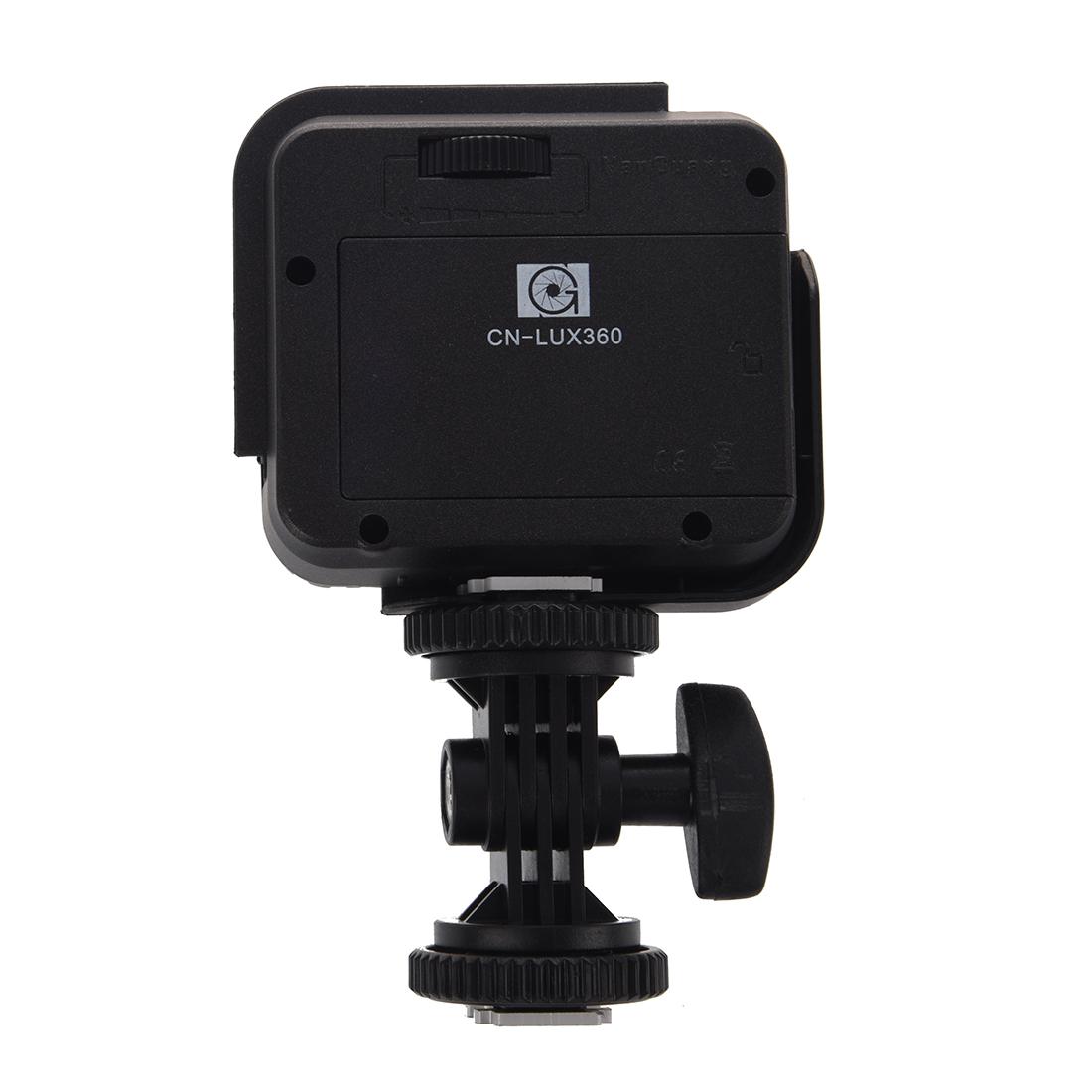 a1 cn lux360 led video licht lampe fuer kamera video. Black Bedroom Furniture Sets. Home Design Ideas