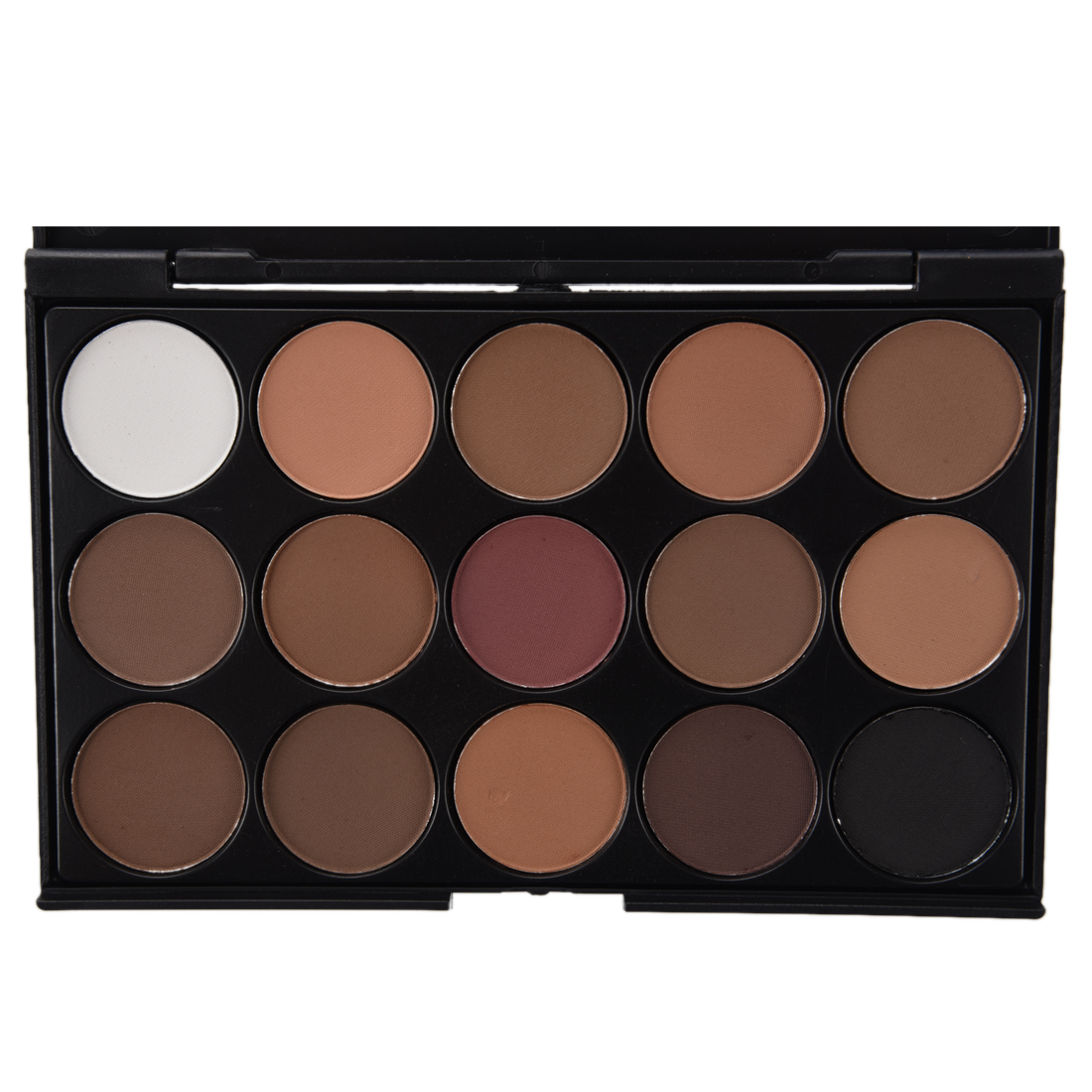 Professional 15 colors women cosmetic makeup neutral warm for Warm neutral color palette