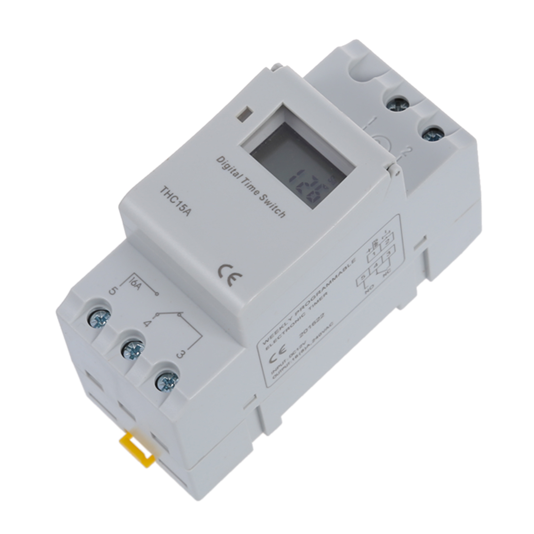 Din Rail Time Relay Switch Digital Lcd Power Programmable Timer Dc English Electric Manuals 1x Instruction Manual