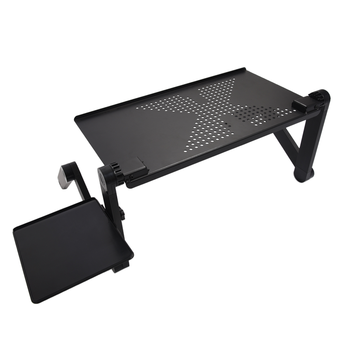 Portable adjustable laptop desk computer table stand tray for Table ordinateur