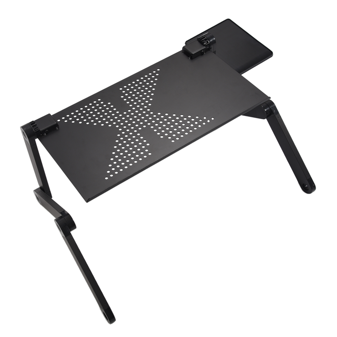 Portable adjustable laptop desk computer table stand tray - Table de ventilation pour pc portable ...
