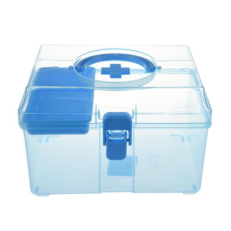 20X(Caja de primeros auxilios pildora Botiquin Caja sana de familia de plas 6Z9)
