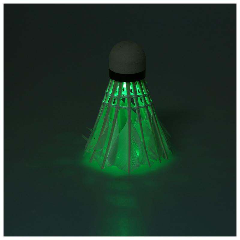 Bälle Weitere Ballsportarten 5 * dunkle Nacht Badminton mit LED Beleuchtung Federbaelle Multifarben K8W3 1X