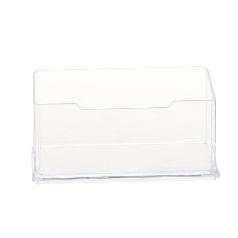 Support De Carte Visite Dacrylique Incolore En Plastique Z6H8 KV