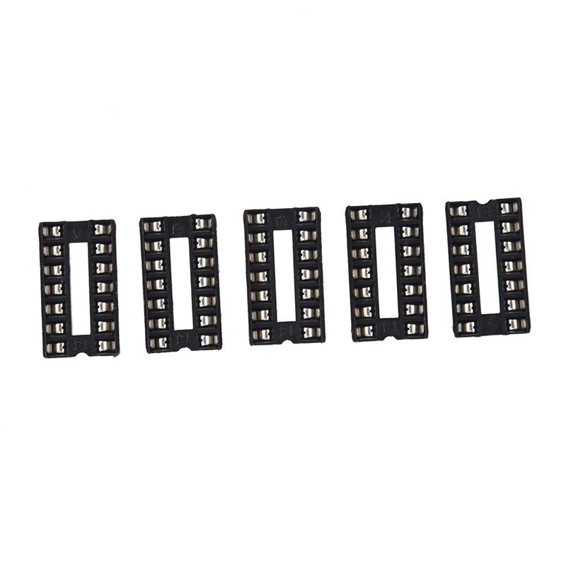 30 Stücke 8 Pin Löten Typ DIP8 Buchsen Adapter Ic Neu rc