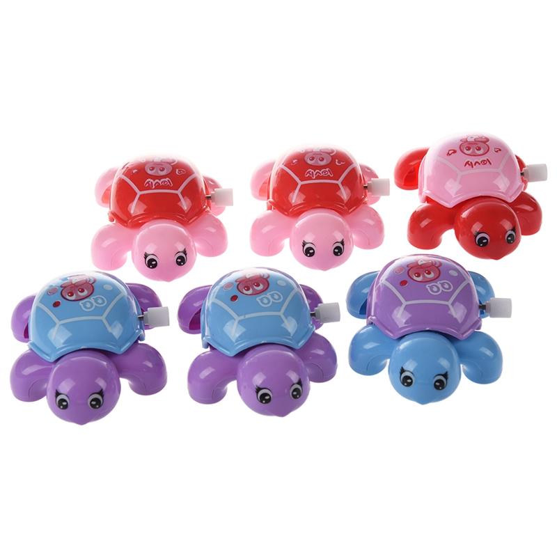 6 x Juguete de Tortuga Plastico Color Surtido para Ninos F7W8 | eBay