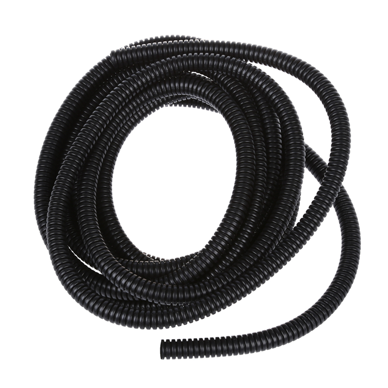 10mm-OD-Flexible-Plastic-Wiring-Corrugated-Bellow-Tube-Hose-5M-T5W8