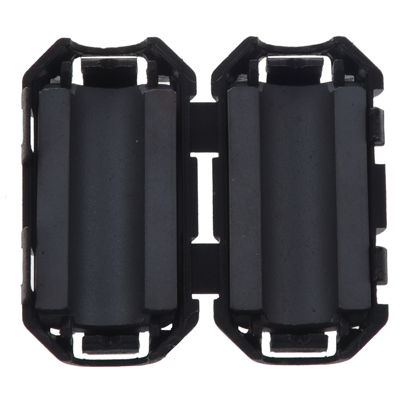 6-x-Filtro-de-nucleo-ferrita-ruido-EMI-RFI-clip-oreja-para-7mm-cable-V6K4
