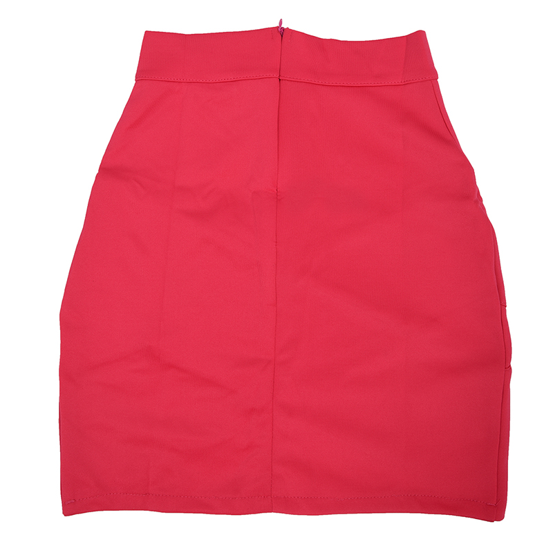 Dame-elegante-Casual-Party-a-la-mode-pour-femme-Mini-jupe-court-Stretch-Bod-T7E2 miniature 3