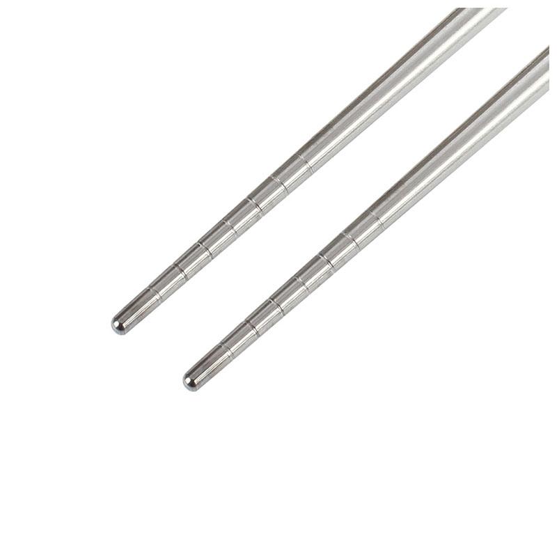 Anti Rutsch Chop Sticks Edelstahl-Essstäbchen Chinesisch Stilvoll YR