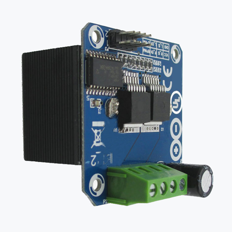 Semiconductor Motor Driver Auto Bts7960 43a H Bridge Pwm