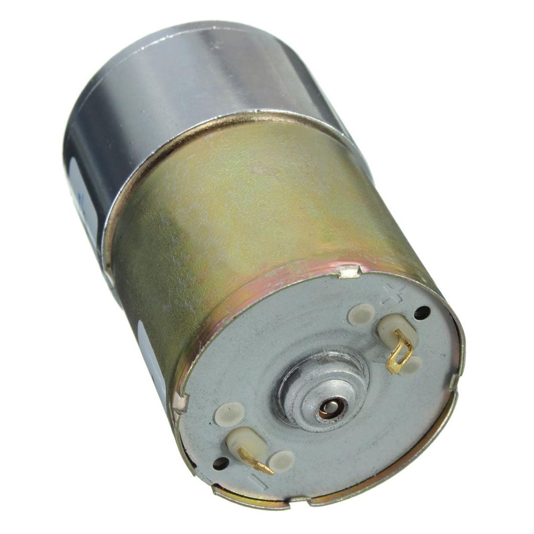 Zhengk 12v dc 300 rpm 37gb high torque gearbox electric for 300 rpm high torque dc motor