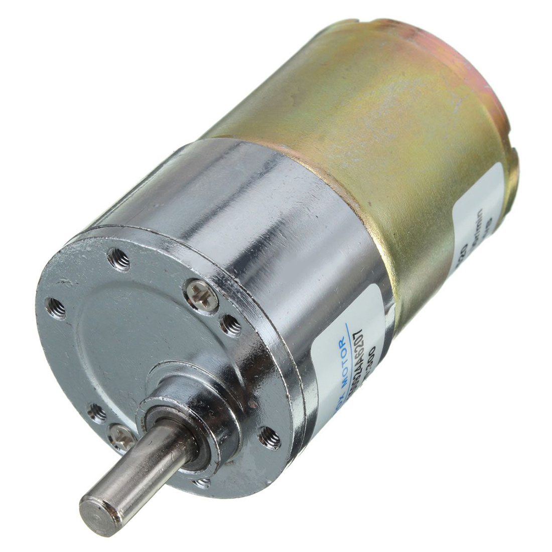 Zhengk 12v dc 300 rpm 37gb high torque gearbox electric for What is dc motor