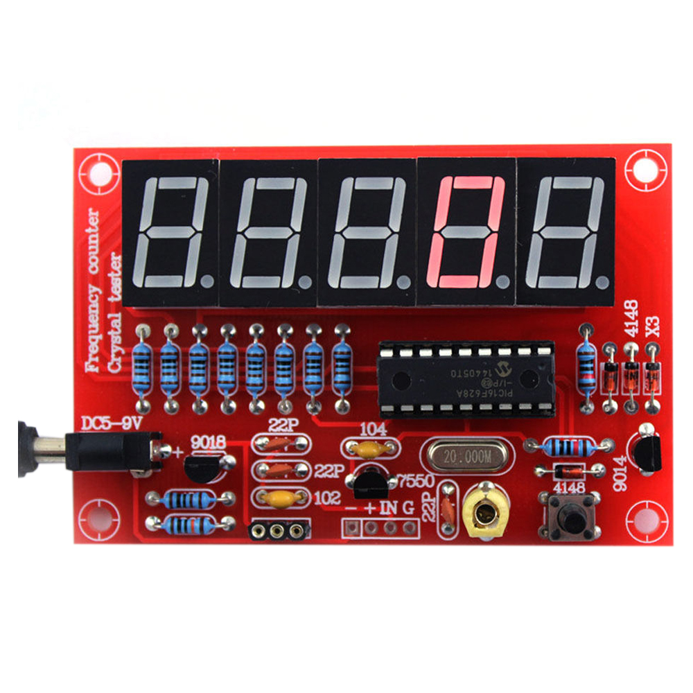 Pic 16f628 Frequency Counter : Pcs hz mhz crystal oscillator frequency counter tester