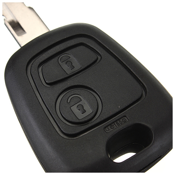 433mhz-remote-key-fob-2-button-blade-w-transponder-chip-ID46-for-peugeot-206-A17