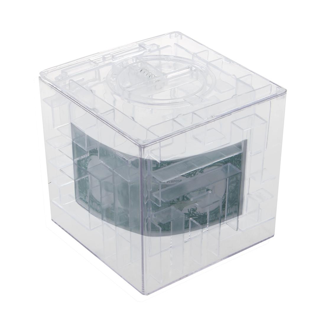 New money maze coin box puzzle gift prize saving bank ed for Maze coin bank