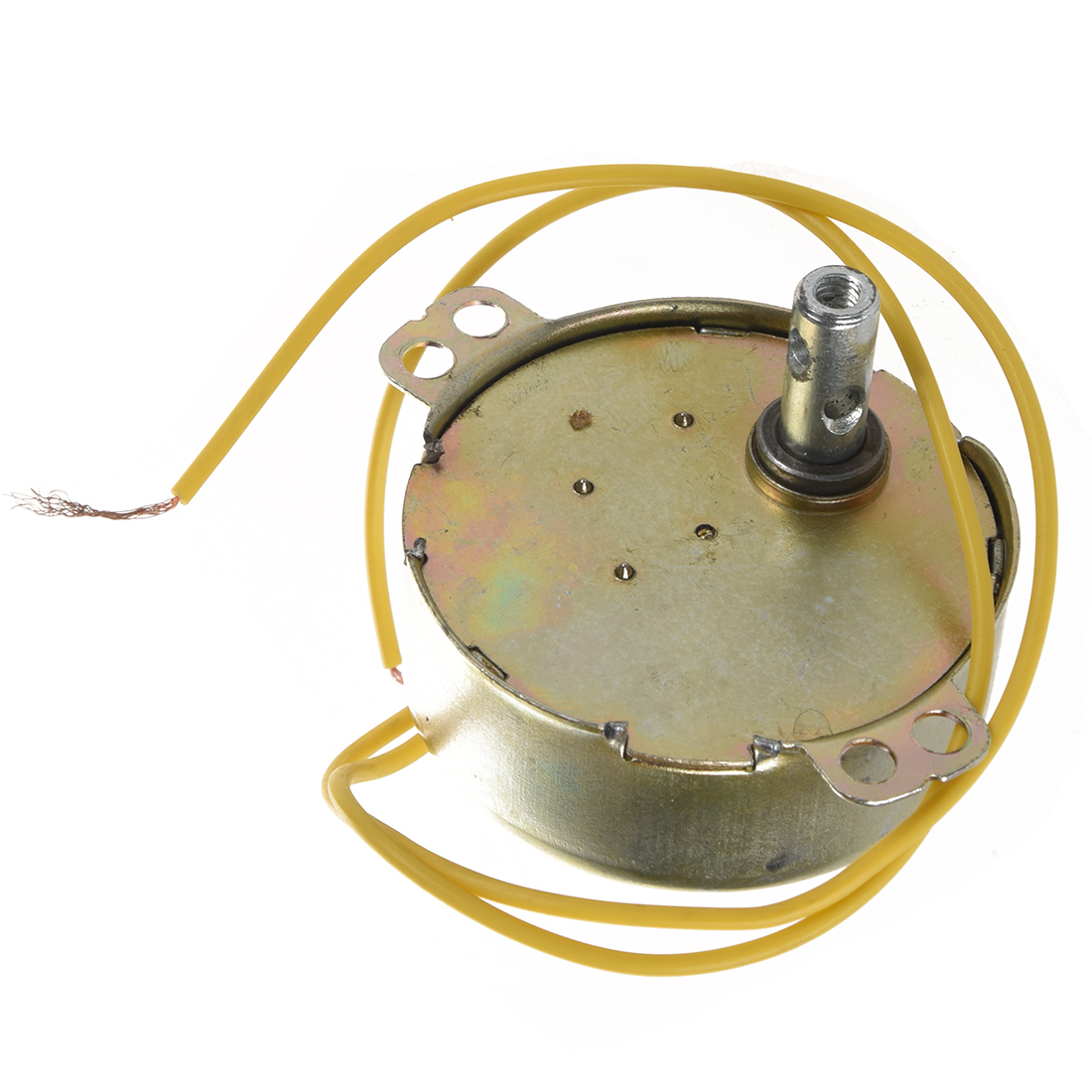 Yellow Wired Ac 220v 50 60hz 3 Watt 5rpm Synchronous Motor Bf Ebay