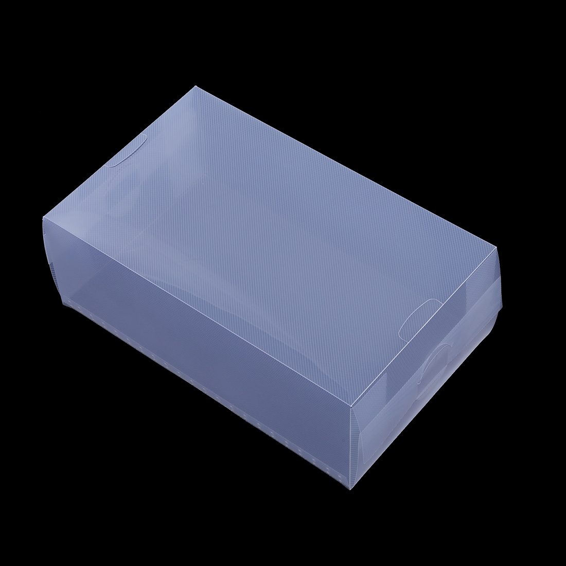 5 x clear plastic mens shoe storage boxes containers size 8 9 10 11 e8 ebay. Black Bedroom Furniture Sets. Home Design Ideas