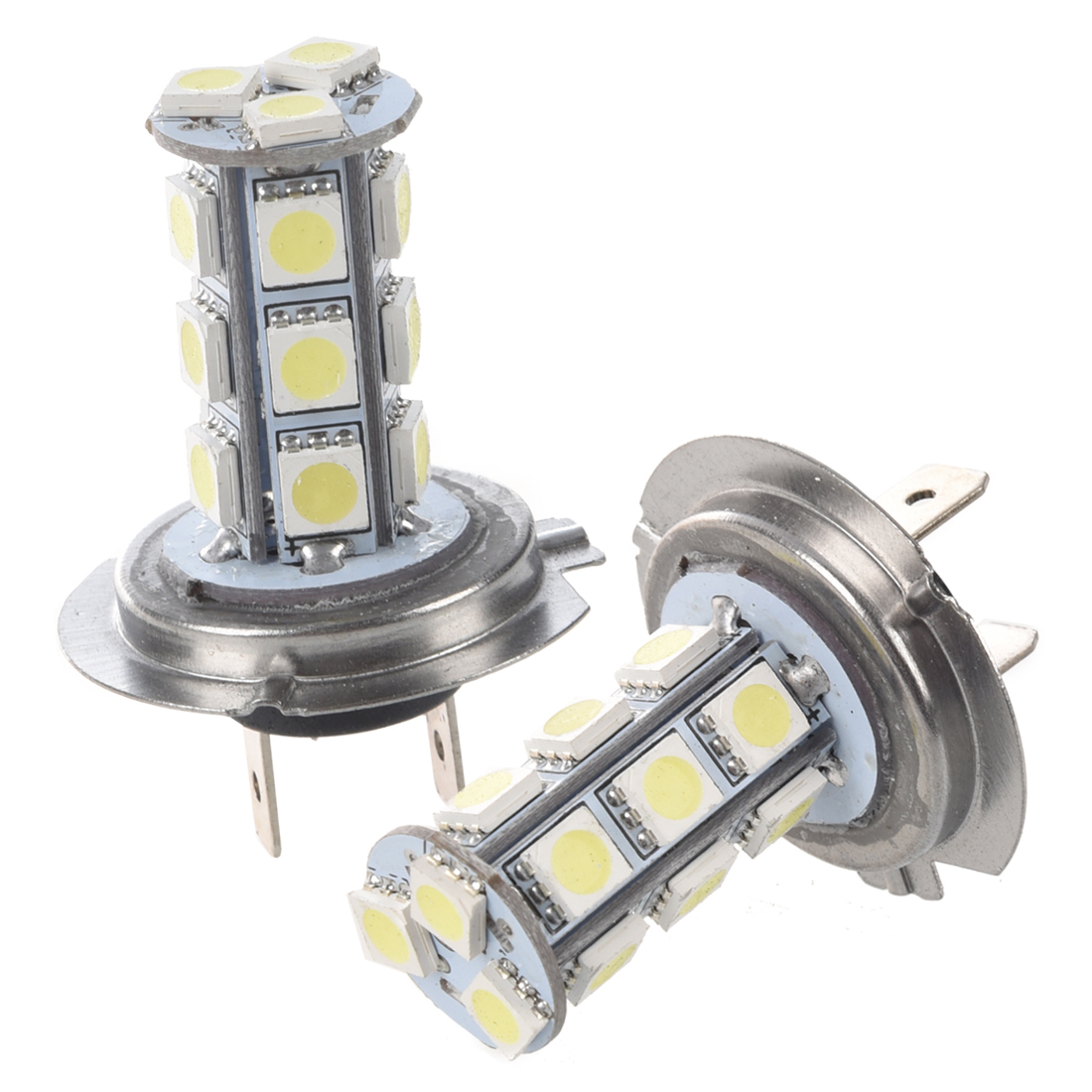 2x h7 18 smd led xenon lampe ampoule bulb blanc 3 chips wt ebay. Black Bedroom Furniture Sets. Home Design Ideas