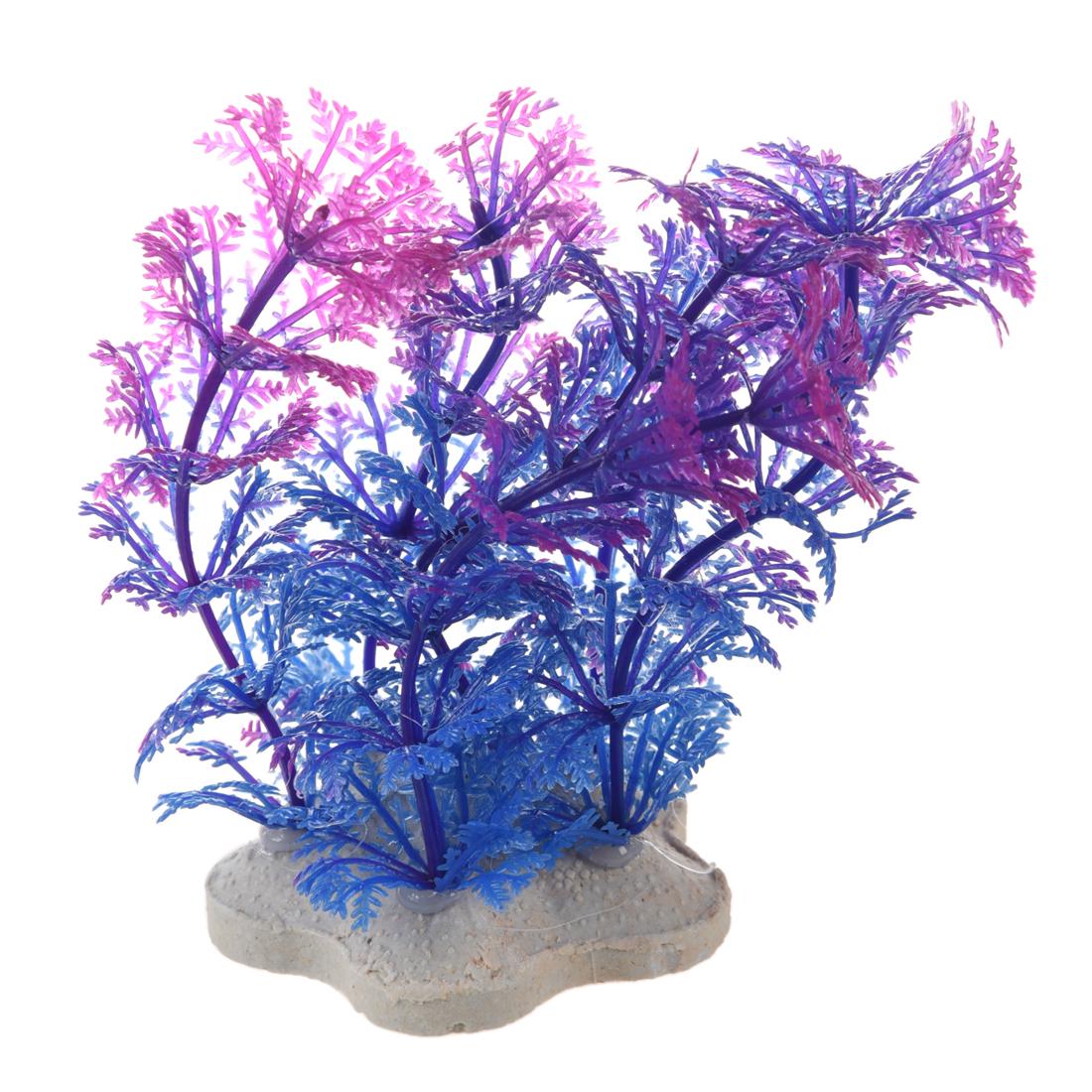 Artificial plant 10cm aquarium decoration water plant for Aquarium plant decoration