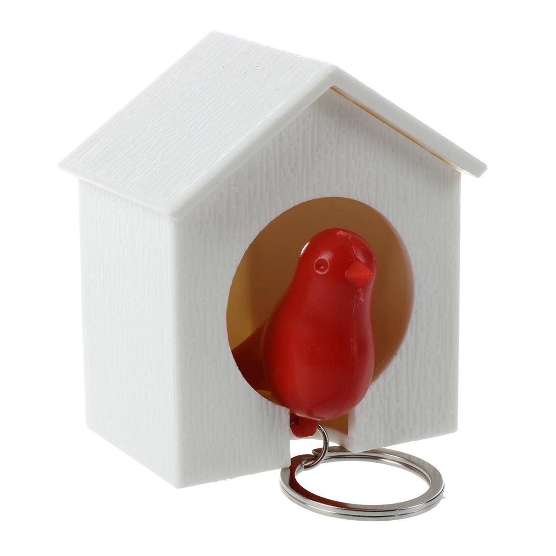 Sparrow bird house key holder whistler wall decor gift q7v1 for Mural key holder