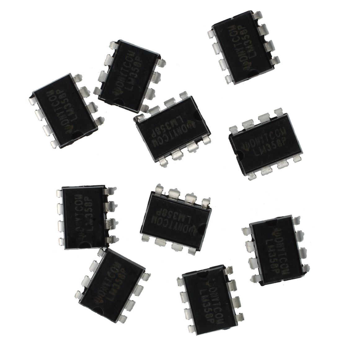 10x Lm358n Low Power 8 Pin Dual Operational Amplifier F8x3 Lm358 Integrated Circuit Dip8 Ebay