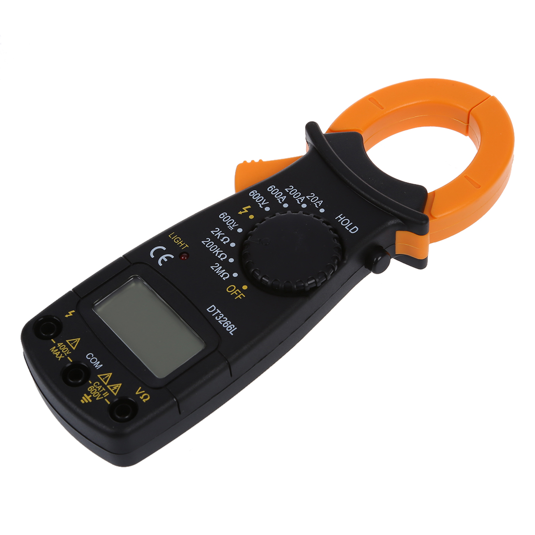 Ac Dc Clamp Meter : Ac dc digital electronic tester clamp meter multimeter