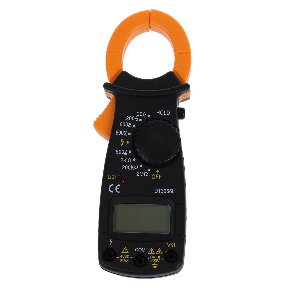 Ac Dc Digital Clamp Meter : Ac dc digital electronic tester clamp meter multimeter