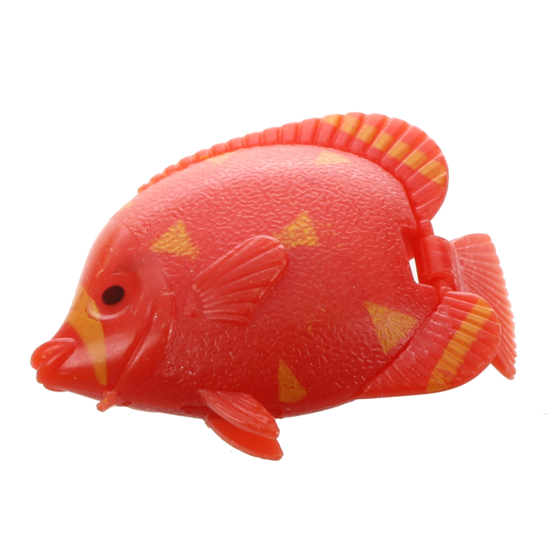 He aquarium artificial movable tail swimming fish 5 pcs for Fake fish that swim