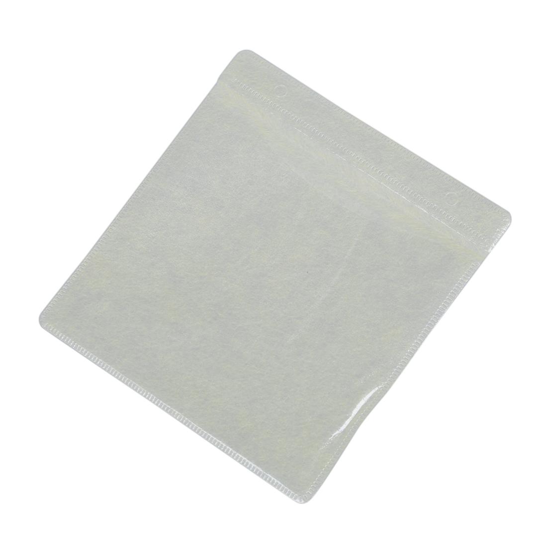 100x Cd Dvd Plastic Sleeve Tssc Cover Storage Case Wallet