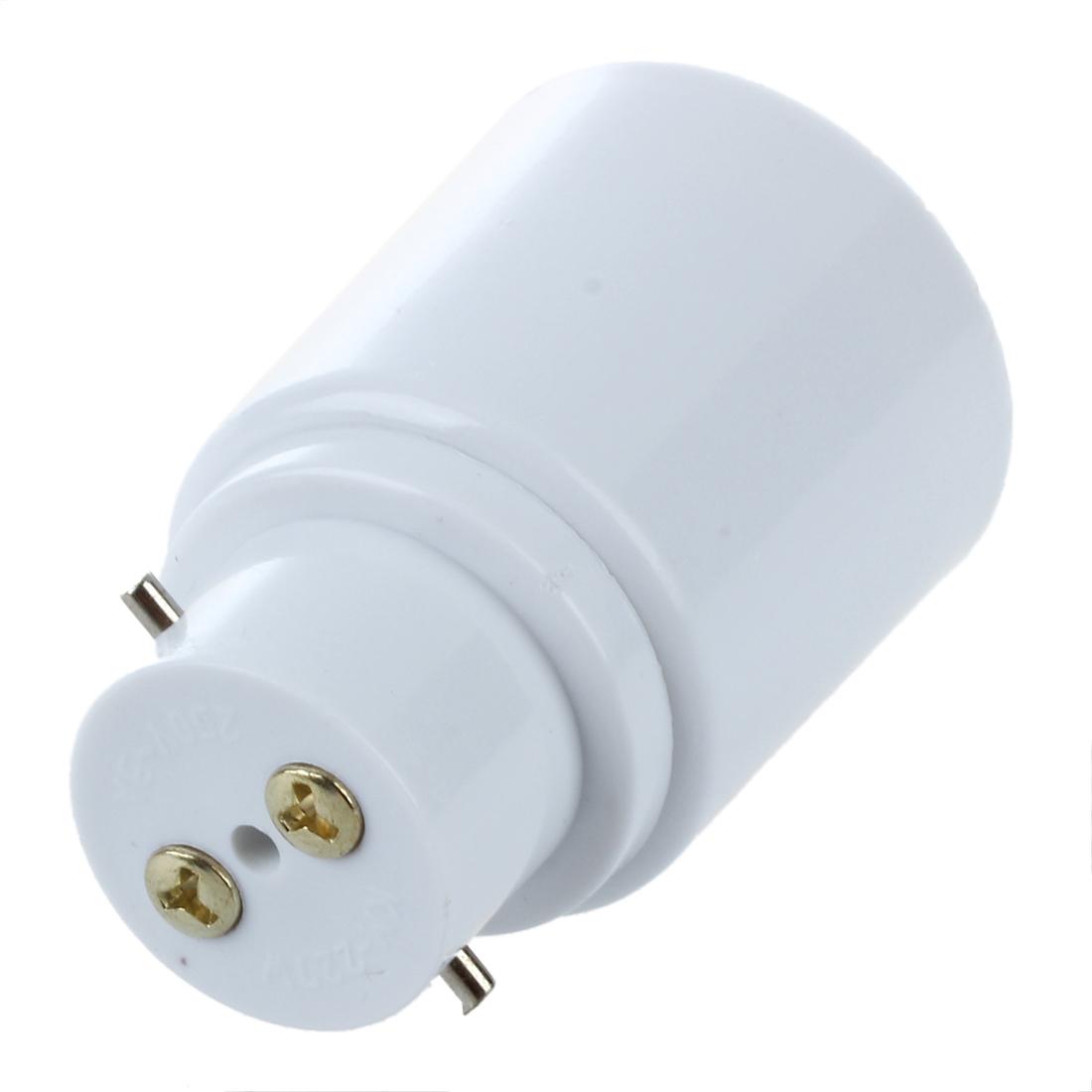 2x vis e27 a culot a baionnette b22 ampoule lampe adaptateur convertisseur sock ebay. Black Bedroom Furniture Sets. Home Design Ideas