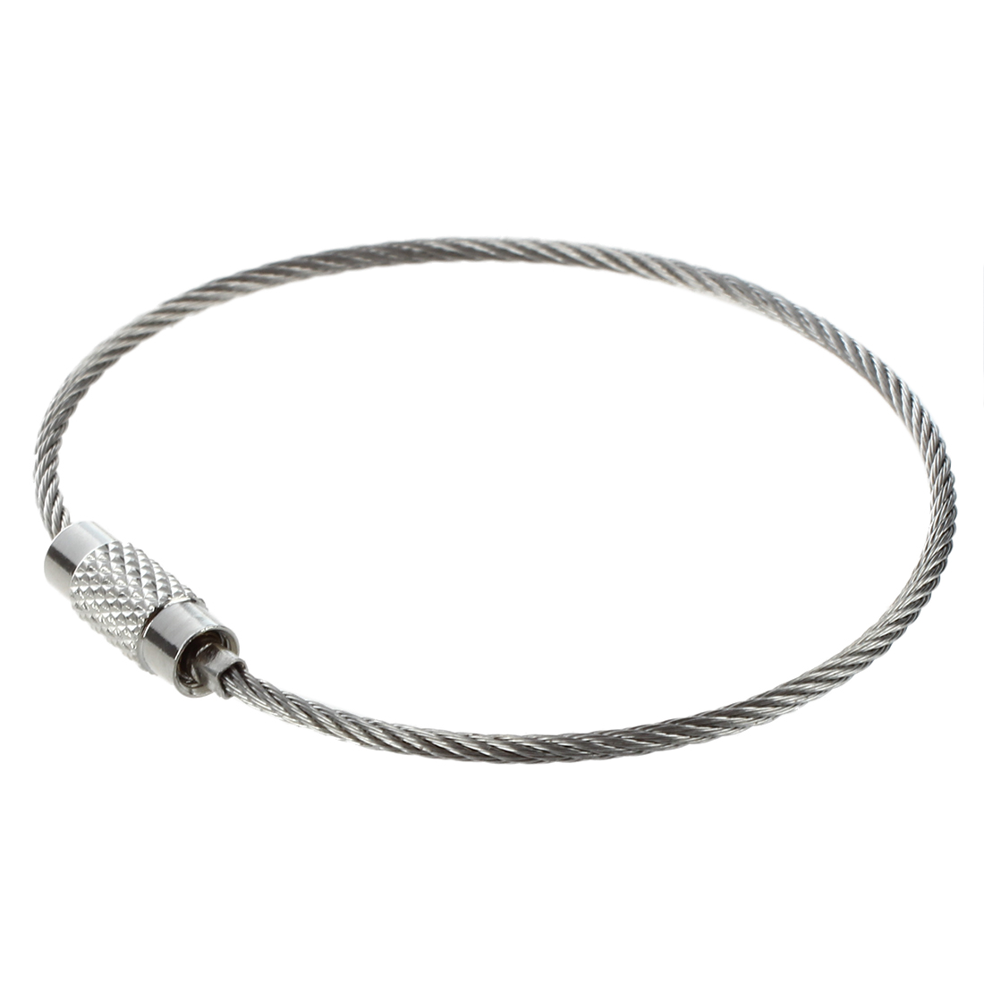 Stainless Steel Lock Wire : Stainless steel screw locking wire keychain cable