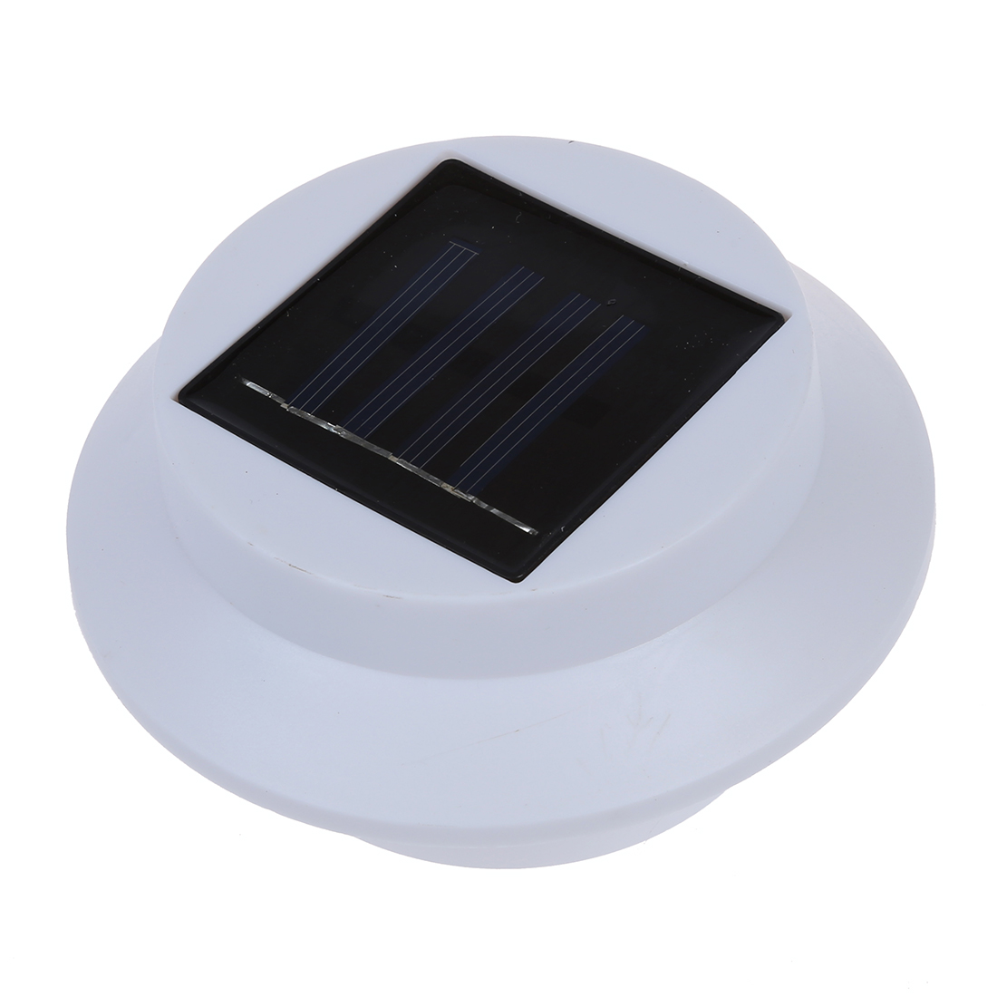 M9 1pcs 3 led solar sonne angetrieben rinne zaun for Solar licht