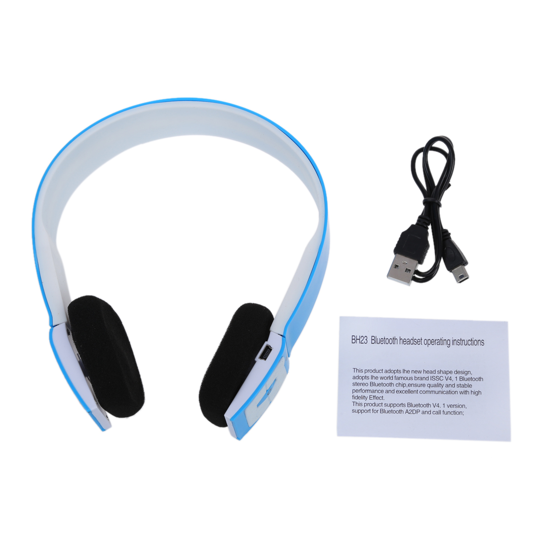 y8 stereo dj style bluetooth wireless headset kopfhoerer. Black Bedroom Furniture Sets. Home Design Ideas
